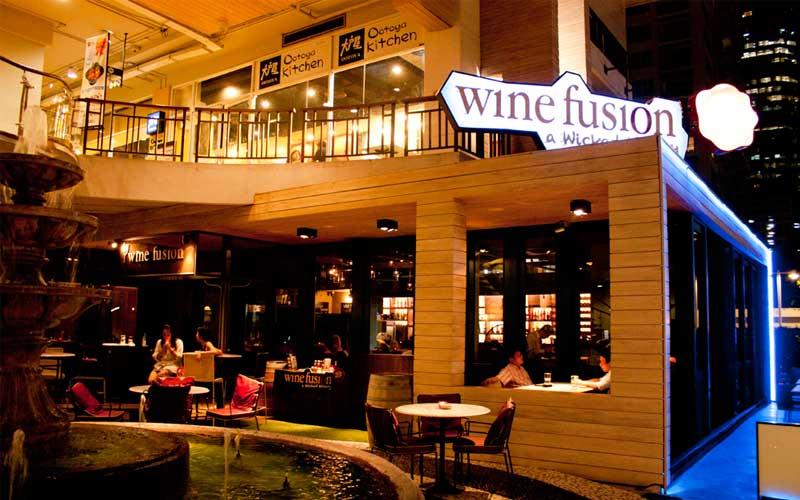 ดื่มไวน์ยุคใหม่กับร้าน Wine Fusion